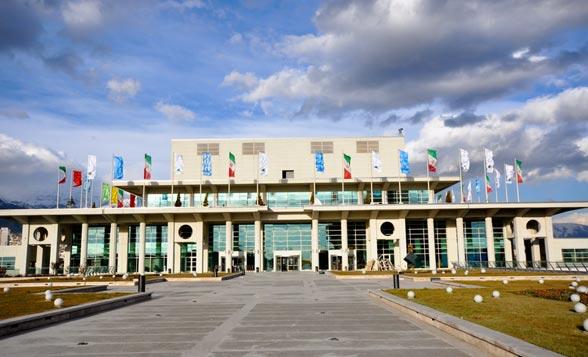 سالن همایش های برج میلاد - محل برگزاری جشنواره بین المللی فیلم فجر