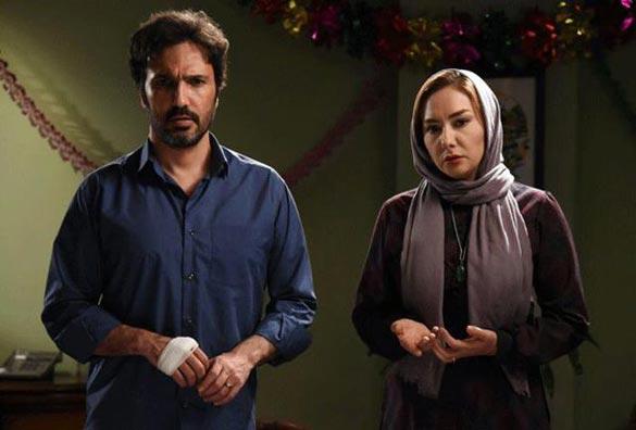هانیه توسلی و محمدرضا فروتن در نمایی از فیلم فیلم سینمایی
