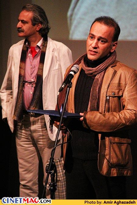 حمیدرضا آذرنگ برنده دیپلم افتخار بهترین بازیگر نقش مکمل برای فیلم