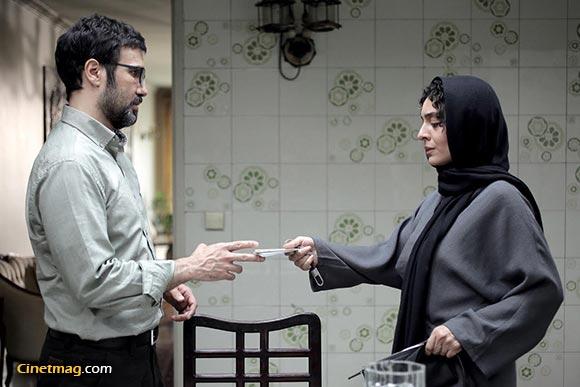 ساره بیات و محمدرضا فروتن در نمایی از فیلم