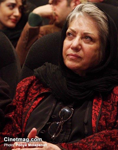 رخشان بنی اعتماد در هفتمین جشن انجمن منتقدان و نویسندگان سینمایی