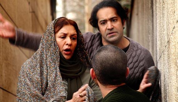 افشین هاشمی و رویا تیموریان در نمایی از فیلم
