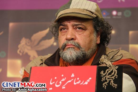 محمدرضا شریفی نیا در نشست پرسش و پاسخ فیلم