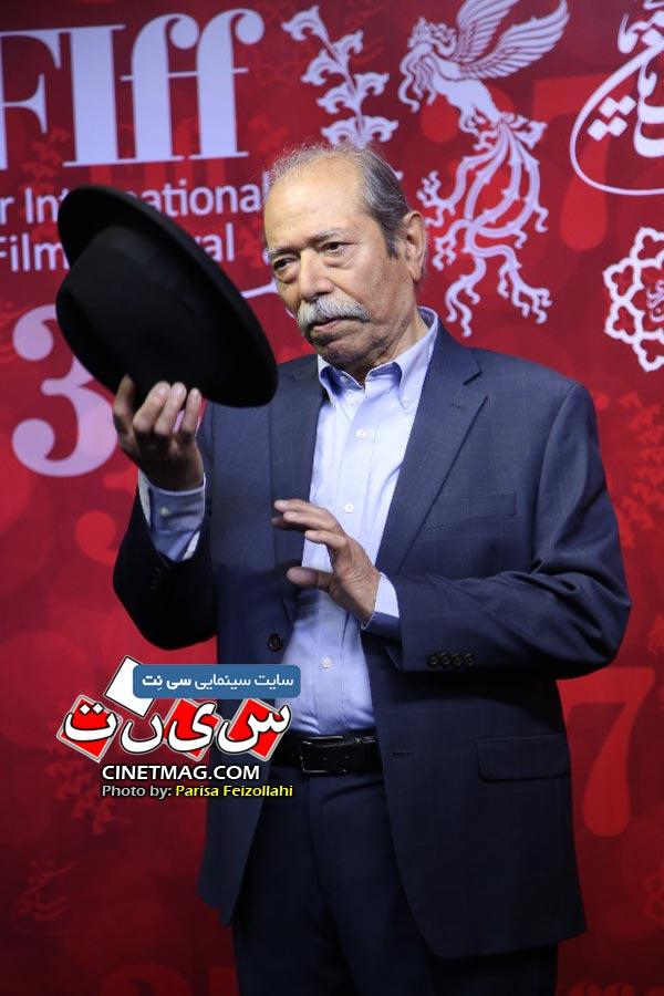 علی نصیریان - سی و هفتمین جشنواره جهانی فیلم فجر / عکس: پریسا فیض الهی