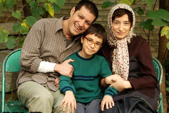 نگار جواهریان و شهاب حسینی در پشت صحنه فیلم