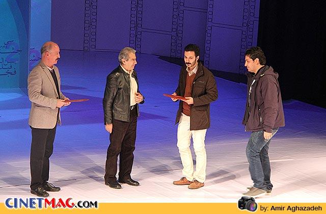 حسین جمشیدی گوهری و محمد شاه¬حسینی دیپلم افتخار بهترین نمونه فیلم را برای فیلم