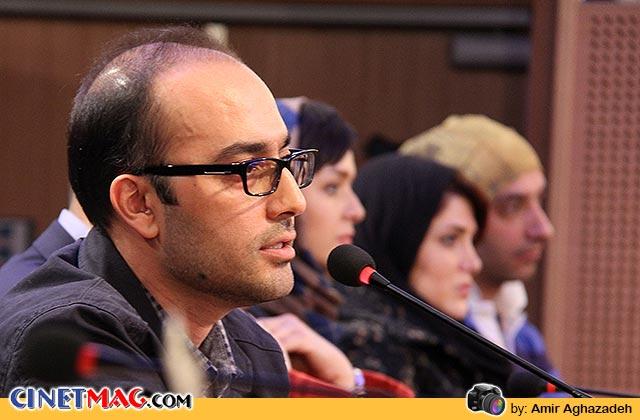 روج الله حجازی در نشست مطبوعاتی فیلم