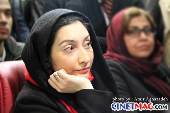 بهاران بنی احمدی در نشست خبری فیلم