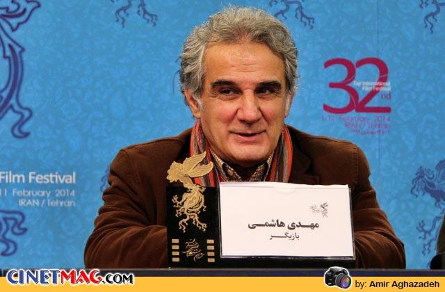 مهدی هاشمی در نشست پرسش و پاسخ فیلم «خانه پدری» - سی و دومین جشنواره فیلم فجر
