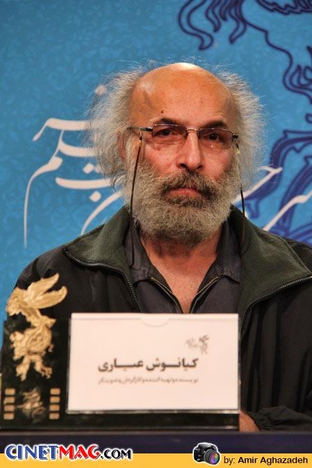 کیانوش عیاری در نشست پرسش و پاسخ فیلم «خانه پدری» - سی و دومین جشنواره فیلم فجر