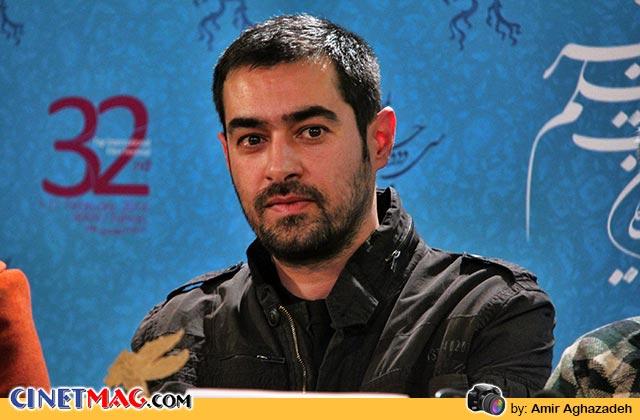 شهاب حسینی در نشست پرسش و پاسخ فیلم