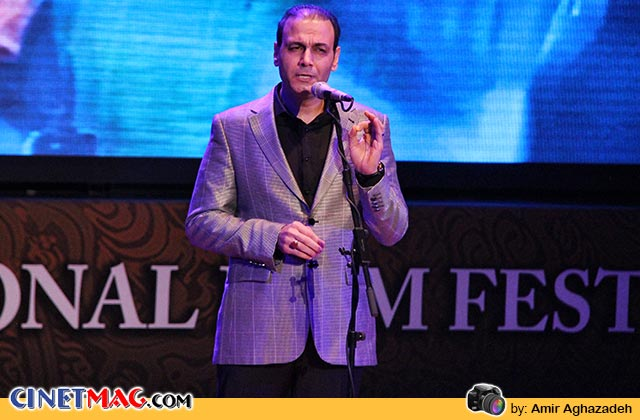 علیرضا قربانی - مراسم اختتامیه سی و دومین جشنواره فیلم فجر