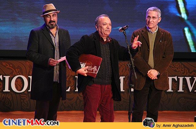 مجید میرفخرایی برنده سیمرغ بلورین بهترین طراحی صحنه و لباس برای فیلم