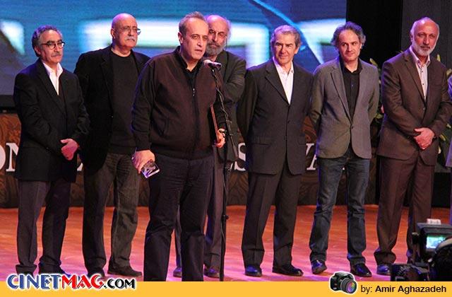 حمید نعمت الله برنده جایزه ویژه هیات داوران برای فیلم