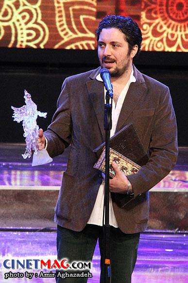 هومن بهمنش برنده سیمرغ بهترین فیلم برداری برای فیلمبرداری فیلم
