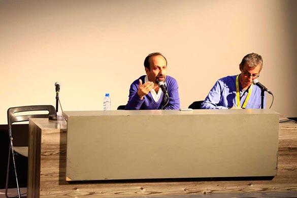 اصغر فرهادی در کارگاه آموزشی جشنواره جهانی فیلم فجر