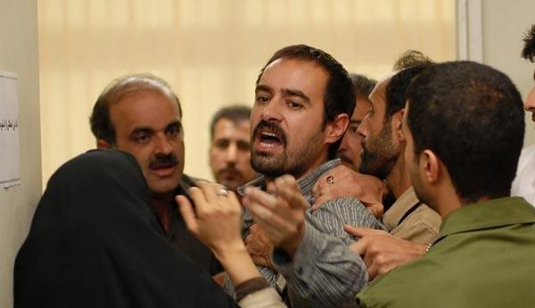 شهاب حسینی در نمایی از فیلم «جدایی نادر از سیمین»
