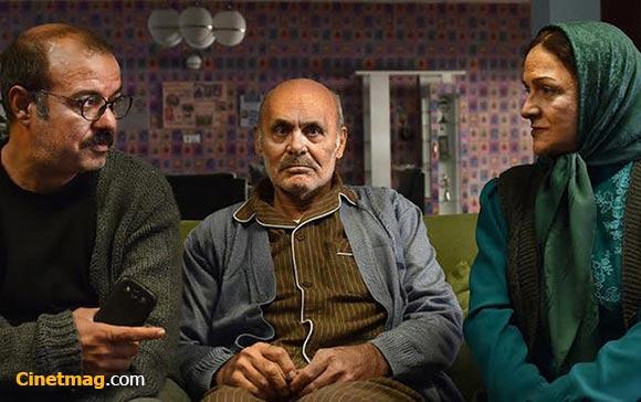 گلاب آدینه، جمشید هاشم پور و سعید آقاخانی در نمایی از فیلم