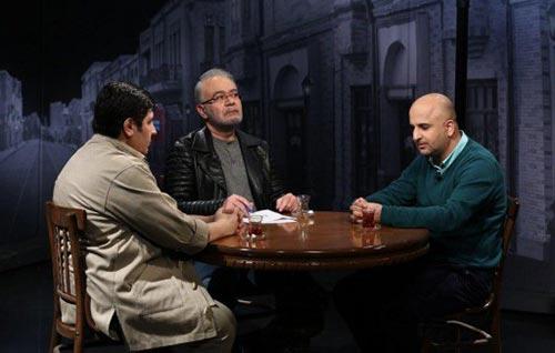 مسعود نجفی، مهدی سجاده چی و نیما حسنی نسب در برنامه میزانسن