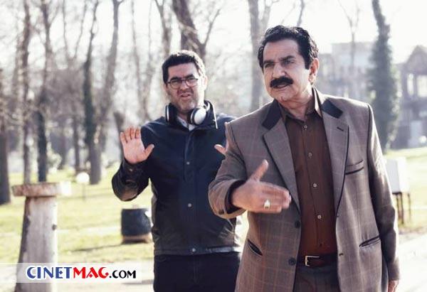 پرویز پرستویی و مصطفی کیایی سر صحنه فیلم «مطرب»