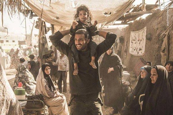 امیر جدیدی در نمایی از فیلم «تنگه ابوقریب»