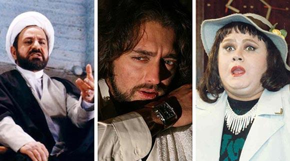 اکبر عبدی (آدم برفی)، بهرام رادان (سنتوری) و پروپر پرستویی (مارمولک)