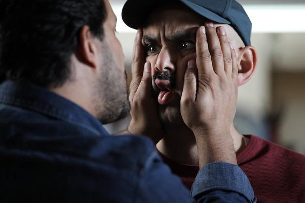 حبیب رضایی و حامد بهداد در نمایی از فیلم