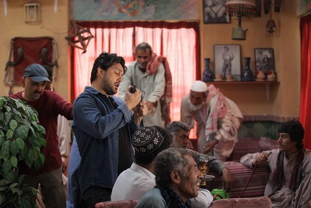 حامد بهداد و حبیب رضایی در نمایی از فیلم