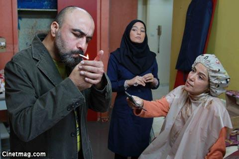 پانته آ بهرام، نگار جواهریان و رضا عطاران در نمایی از فیلم