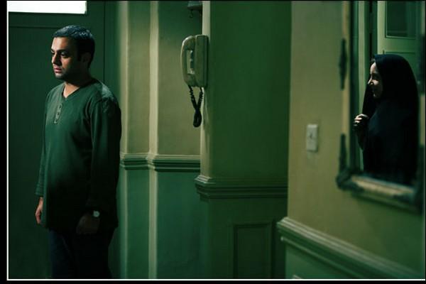 صابر ابر در نمایی از فیلم