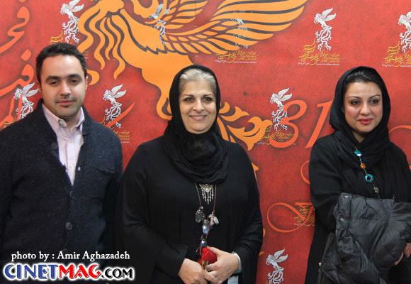 نگار آذربایجانی ، فرشته طائرپور - مراسم افتتاحیه سی و یکمین جشنواره فیلم فجر - 11 بهمن 91