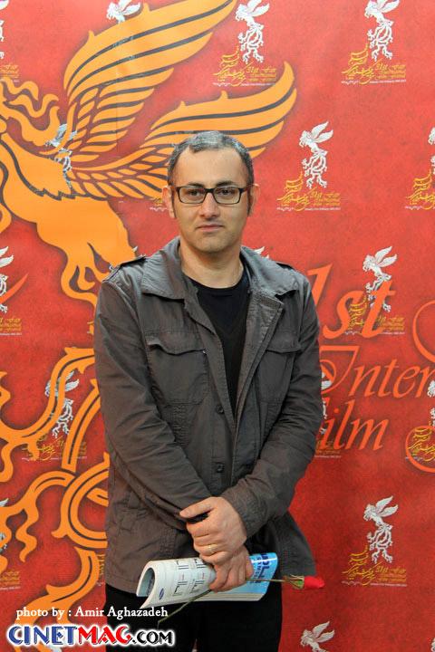 بهرام توکلی - مراسم افتتاحیه سی و یکمین جشنواره فیلم فجر - 11 بهمن 91