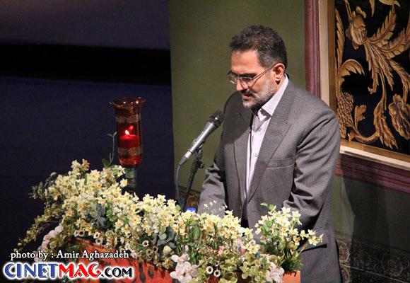 سید محمد حسینی - مراسم افتتاحیه سی و یکمین جشنواره فیلم فجر - 11 بهمن 91