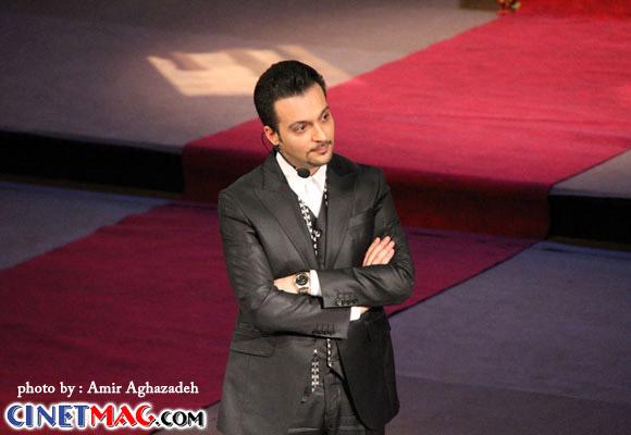 محمد سلوکی - مراسم افتتاحیه سی و یکمین جشنواره فیلم فجر - 11 بهمن 91