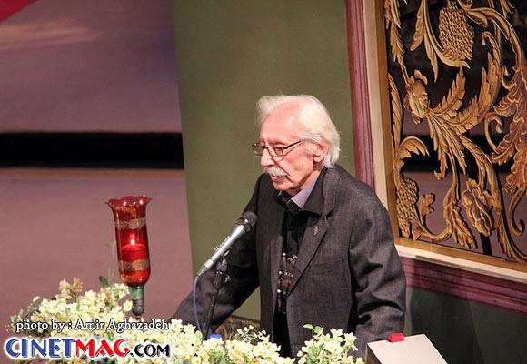 جمشید مشایخی - مراسم افتتاحیه سی و یکمین جشنواره فیلم فجر - 11 بهمن 91