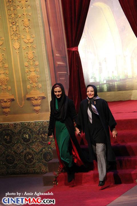 مهری شیرازی ، مریلا زارعی - مراسم افتتاحیه سی و یکمین جشنواره فیلم فجر - 11 بهمن 91
