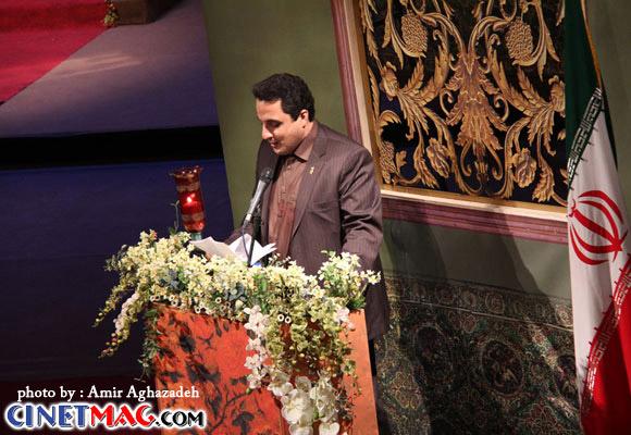 محمدرضا عباسیان - مراسم افتتاحیه سی و یکمین جشنواره فیلم فجر - 11 بهمن 91