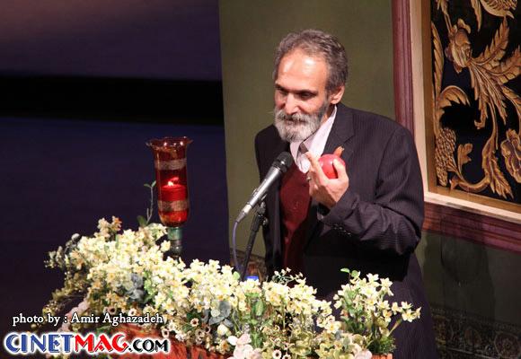 جهانگیر الماسی - مراسم افتتاحیه سی و یکمین جشنواره فیلم فجر - 11 بهمن 91