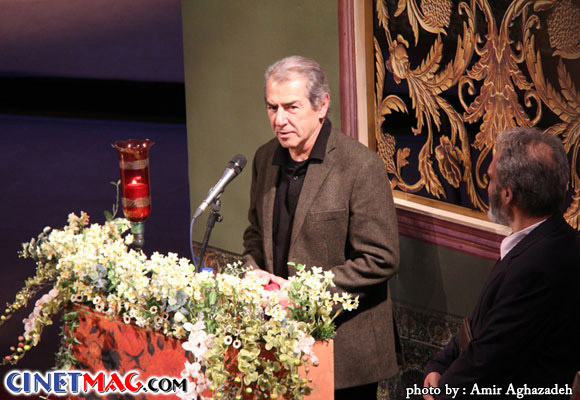 فرامرز قریبیان - مراسم افتتاحیه سی و یکمین جشنواره فیلم فجر - 11 بهمن 91