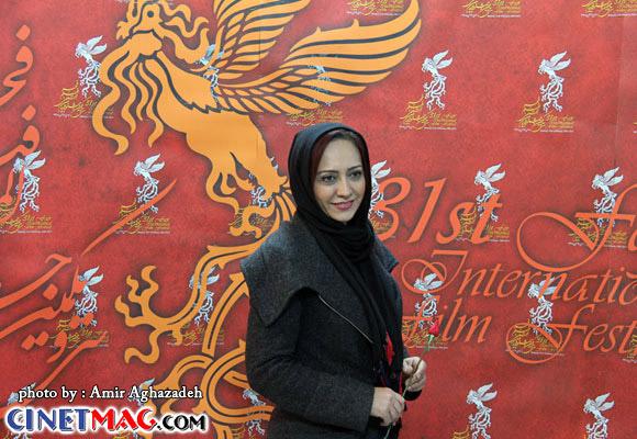شیرین بینا - مراسم افتتاحیه سی و یکمین جشنواره فیلم فجر - 11 بهمن 91