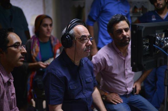 کمال تبریزی در پشت صحنه فیلم سینمایی