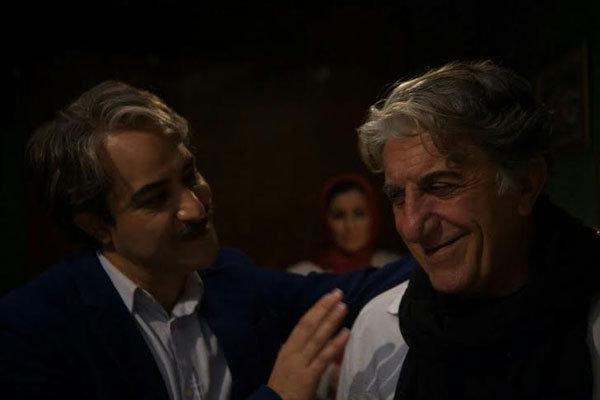 رضا کیانیان در نمایی از فیلم سینمایی
