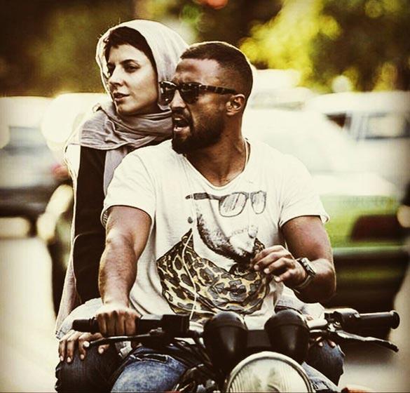 امیر جدیدی و لیلا حاتمی در نمایی از فیلم سینمایی