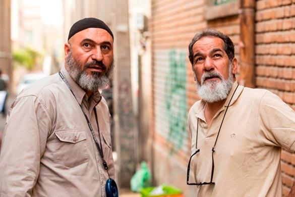 سعید سهیلی (کارگردان فیلم گشت2) - حمید فرخ نژاد (بازیگر و تهیه کننده فیلم گشت2)
