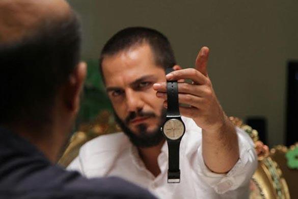 عباس غزالی در نمایی از فیلم سینمایی