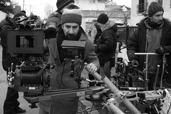 اصغر فرهادی در پشت صحنه فیلم