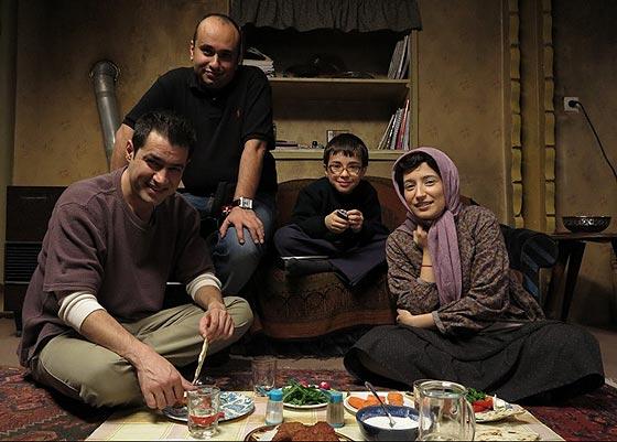 نگار جواهریان، مازیار میری و شهاب حسینی - پشت صحنه