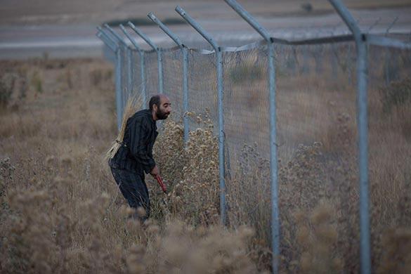 داوود نورپور در نمایی از فیلم کوتاه