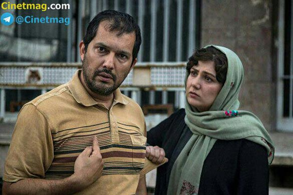 حامد بهداد و باران کوثری در نمایی از فیلم سینمایی