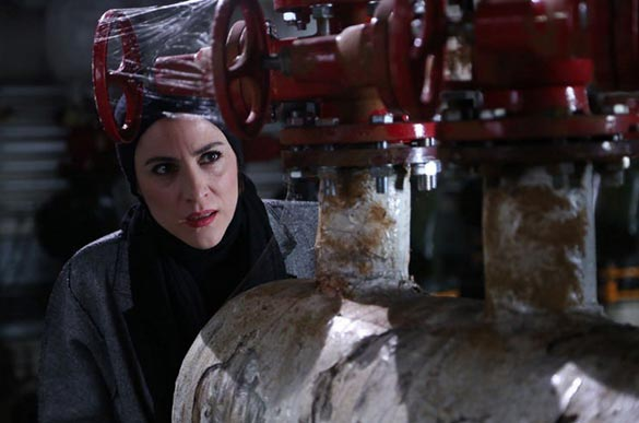 ویشکا آسایش در نمایی از فیلم سینمایی